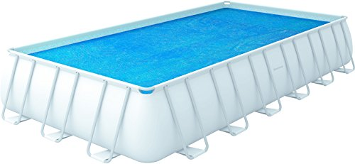 Bestway 8321510 - Cobertor solar para piscina rectangular, 732 x 366 cm