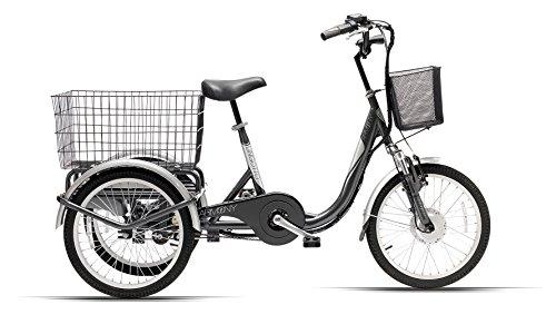 Cicli Ferrareis Bici elettrica a tre ruote lingotto