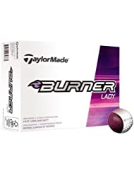 Taylormade Burner Lady - Bolas para mujer, color blanco, talla única