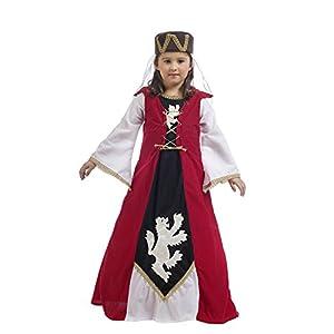 Limit Sport- Leonor Dama Medieval, disfraz infantil, 3 (MI978