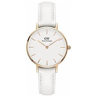 [Daniel Wellington] Daniel Wellington Reloj Ladies Classic Pettitte Bondi blanco oro rosa 28mm dw00100249[Regular importados]
