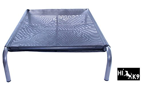 Original Raised Pet Bed Hundebett Hundeliege schwarz L (69x111x21cm)