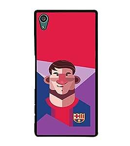 PRINTVISA Football Champion Barcelona Case Cover for Sony Xperia Z5