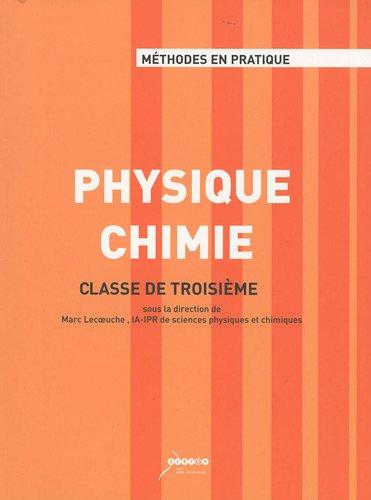 Physique Chimie : Classe de troisième