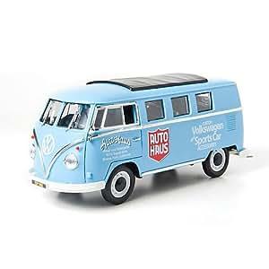 Greenlight Collectibles - 12852 / 15332 - Véhicule Miniature - Volkswagen Combi Microbus - Auto Haus Custom - Echelle 1:18