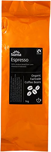 SUMA Organic Espresso Fairtrade Coffee Beans 1 kg 41IDIOMs2iL