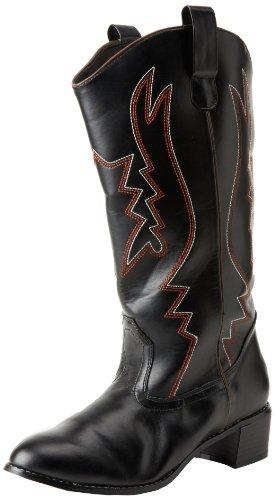 Funtasma Cowboy-Stiefel COWBOY-100 - Black 48,5 - 50 EU (Beige Herren Cowboy-stiefel)