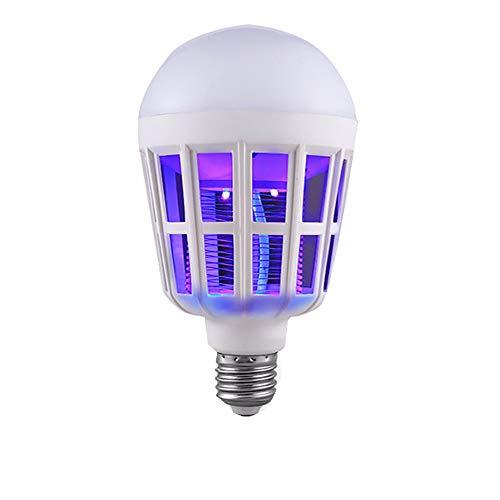 YWLINK Insektenvernichter Elektrisch, UV LED Moskito-Lampe FüR Innen Schlafzimmer GäRten Anti Moskito FäNger Moskito-Killer 15W 1000LM 6500K Beleuchtung Multifunktions Lampe