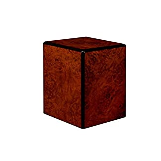 Chateau Urns Society Collection, Wood Urn, Pet Urn, Small cremation Urn, Keepsake Urn Burl wood finish 41IDK gAmXL