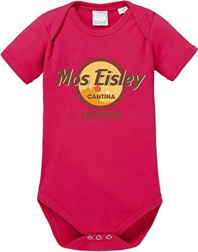 AngryShirts Mos Eisley Cantina Body Baby Kurzarm Bio Baumwolle