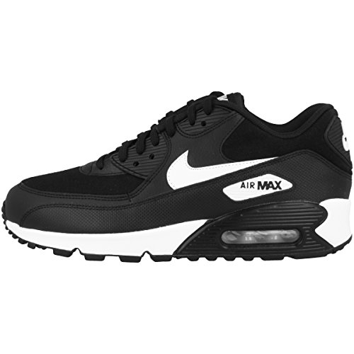 Nike Damen Air Max 90 Sneaker, Schwarz (Black/White 047), 39 EU (Max Air Womens Nike)