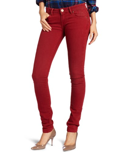 Scotch & Soda Maison - Pantaloni, skinny fit, donna Rosso (Rot (32 - red))