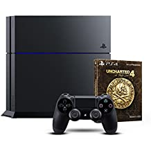 PlayStation 4 - Konsole (500GB) + Uncharted 4 - Special Edition
