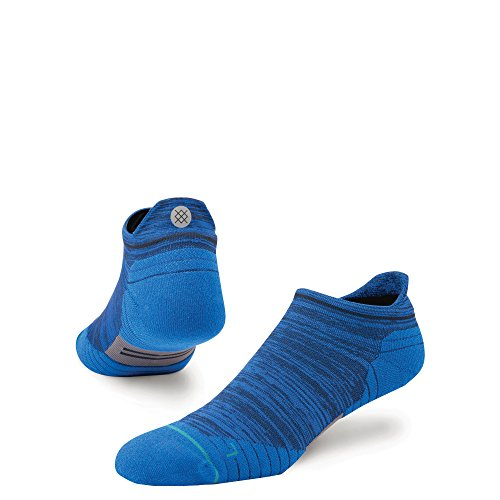 Stance Mens Uncommon Solids Wool Tab Running Socks - No Show - Navy