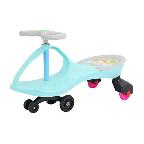 Cah-travel systems wiggle car ride on toy twist go girevole scooter swing gyro car scooter per bambini,green