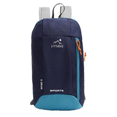 Amlaiworld Marsupio Sport ,Scuola di moda casual zaino borsa a tracolla zaino borse da viaggio (blu scuro)