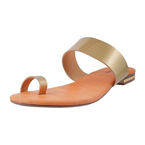Mochi Women Casual Thong Slip Ons image