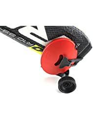Skiddi Mini trolley de bolsillo para esquí, BARE RED