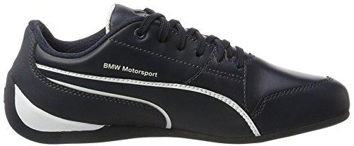 Puma Unisex Erwachsene BMW MS Drift Cat 7 Sneaker, Mehrfarbig (White,Blue 001), 44 EU