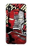 Case Me Up Coque téléphone pour iPhone XS Max Iron Man Tony Stark Superhero Marvel...