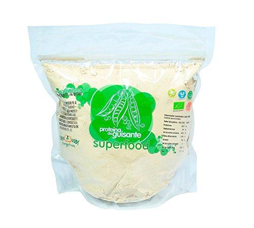 Proteína de Guisante Eco - 1 Kg | 82% proteina | natural y vegano |
