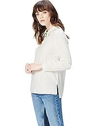 FIND Women's Half-Zip Cotton Shirt