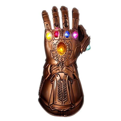 Yuan Infinity Gauntlet Avengers Marvel Thanos Legends Series Puño electrónico articulado Guante/PVC /&