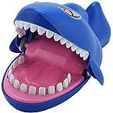 Tricky Toys Electric Shock Shark Bite Finger with Sound Light Scary Joke Trick Game Prank
