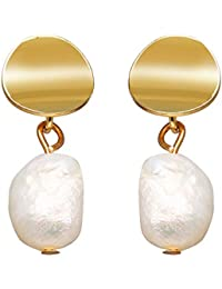 RONSHIN Women Retro Pearl All Matching Delicate Exquisite Earrings