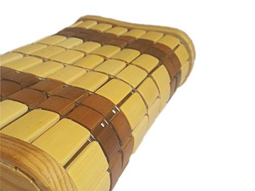 Sauna Bambus Kopfkissen - Kopfstütze Saunastütze Saunaeinrichtung Sauna Lehne -