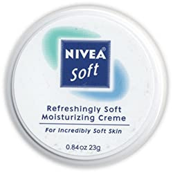 Nivea Soft, Refreshingly Soft Moisturizing Creme, .84 Oz. (Pack of 6)