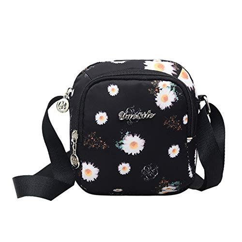 La nuova borsa a tracolla selvaggia casuale di tendenza femminile modella i modelli diagonali verticali del crisantemo della sezione verticale del pacchetto della s