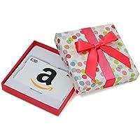 Amazon.de Geschenkgutschein in Geschenkbox (Bunte Punkte) - mit kostenloser Lieferung am nächsten Tag