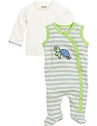 Schnizler Set Schildkröte, 2-Tlg. Mit Langarmshirt, Oeko-Tex Standard 100, Polaina para Bebés