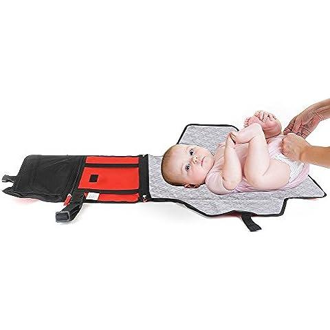 Webeauty® Cambio de pañales del embrague con el cambio de la estera del cojín para bebés para bebés, niños pequeños accesorios infantiles del