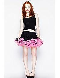 Hell Bunny Petticoat MICRO TUTU black/pink