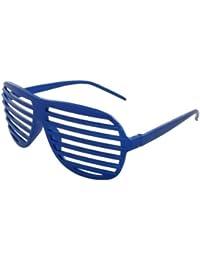 Alsino Atzenbrille Shutter Shades Sonnenbrille ohne Glas V-820