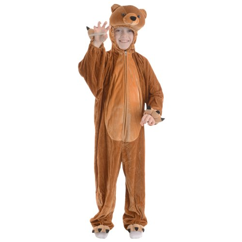 Childrenu0027s Costume Size 7-8 Boogie Woogie Bear  sc 1 st  Amazon UK & Childrens Bear Costumes: Amazon.co.uk