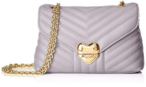 Mario Valentino VBS3AY03, sac bandoulière femme - Violet - Violet (Lilla 085), 5x13x21 cm (B x H x T)