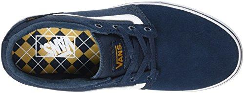 Vans Herren Chapman Stripe Laufschuhe Blau (Varsity navy/gold)