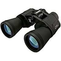 Binoculares 10 x 50, SGODDE Binoculares de Ampliación, Zoom Impermeable Ultra HD FM para la Observación de Aves Paisaje de Caza de Fútbol con Tragetasche Correa de Tela Limpia