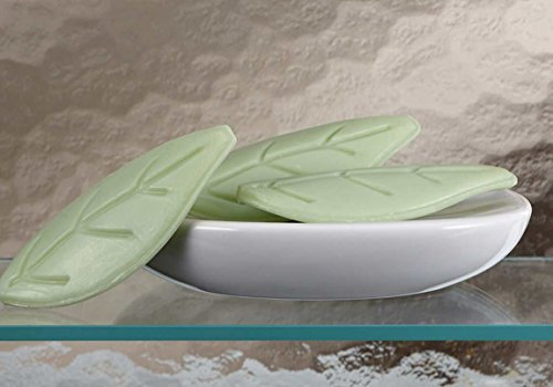 White Tea Soap: Westin Hotels Leaf Shaped Soap. Set of 20. by Westin (Home Hotels At)