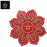 Code Rangoli Specially For Home Decoration In Diwali Festival In Ghumat Shape In Acrylic Material