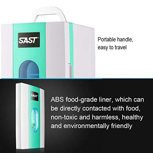 41IDau1m5sL - Mini refrigeradores Refrigerador portátil para el hogar Refrigerador de insulina Refrigerador portátil para medicamentos del hogar Viaje en automóvil 10L (Color: Blanco, Tamaño: 23.5 * 26 * 33.5cm)