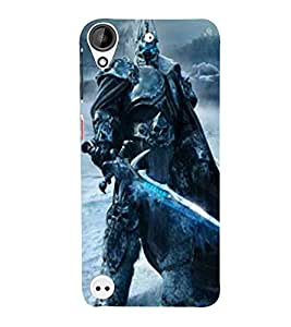 For HTC Desire 530 Cartoon, Black, Cartoon and Animation, Sward, Printed Designer Back Case Cover By CHAPLOOS