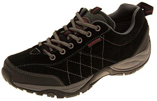 womens-northwest-territory-black-leather-weatherproof-hiking-shoes-uk-7