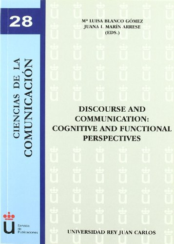 Discourse and Communication: Cognitive a...