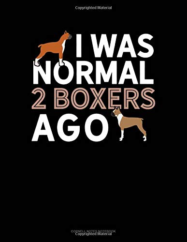 I Was Normal 2 Boxers Ago: Cornell Notes Notebook por Jeryx Publishing