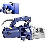 HUKOER Elektrischer Rebarschneider 7/8# 7 1350W Hydraulischer Rebarschneider 3,5-4,5 Sekunden Schnittgeschwindigkeit Tragbarer Rebarschneider (7/8 Zoll)