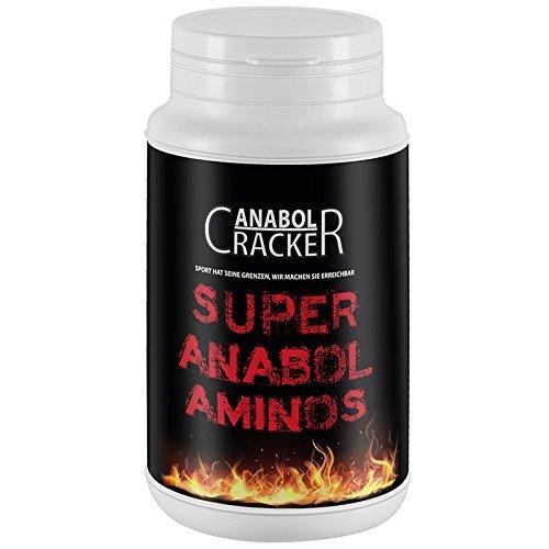Super Anabol Aminos, 60 Kapseln hodosierte Aminosäuren, Bcaa L-Arginin L-Carnitin L-Glutamin